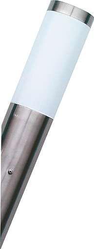 Ranex Wandlamp schuin 1 x E27 IP44 inox-Ranex