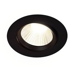 Energetic LED Spot encastrable Dorado 3 x 5,5 W 4000 K ronde noir