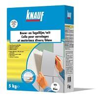 Knauf Bouw- en tegellijm 5 kg wit-Knauf