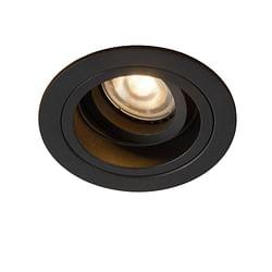 Lucide LED Spot encastrable Embed 1 x GU10 ronde noir