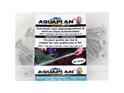 Aquaplan Vis pour profils de rive 25 pièces