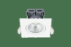 Energetic Spot encastrable LED Apollo 3 x 4,8 W 4000 K carré blanc