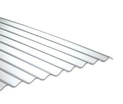 Onduline Plaque PVC 76/18 cristal 0,9 x 2 m