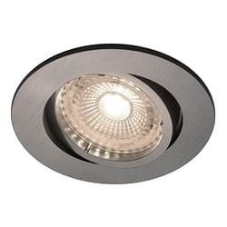 Energetic LED Spot encastrable Octan GU10 5 x 4,8 W 2700 K ronde nickel
