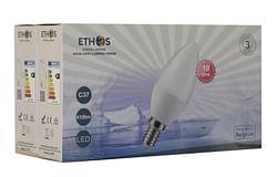 Ethos Lampe Flamme LED E14 5 W 440 Lm 6000 K 10 pièces