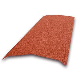 Aquaplan Aqua-Tuile métallique faîtière 91 cm rouge