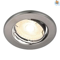 Energetic Spot encastrable LED Canis 3 x 4,9 W 2700 k dimmable ronde nickel