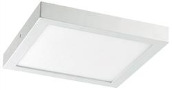 Ethos Plafonnier LED 1 x 6 W carré blanc