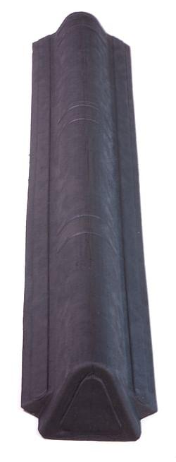 Onduline Onduvilla faîtière mince g/d noir 1,06 m