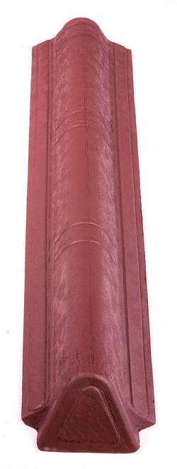 Onduline Onduvilla faîtière mince g/d rouge 1,06 m
