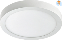 Ethos LED Plafonnière 1 x 12 W rond wit-Ethos
