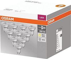 Osram LED Spot Base Par16 GU10 4,3 W 350 Lm 2700 K 10 stuks