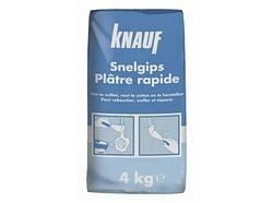 Knauf Plâtre Rapide 4 kg