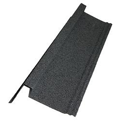 Aquaplan Aqua-Tuile métallique rive g/d 91 cm anthracite