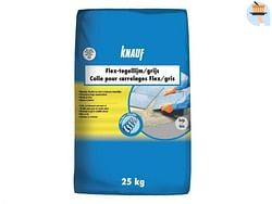 Knauf Flex colle pour carrelages gris 25 kg