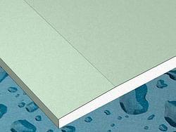 Gyproc Plaque de plâtre résistant à l'eau 260 x 60 x 1,25 cm