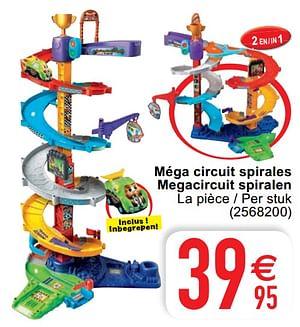 Méga circuit spirales megacircuit spiralen