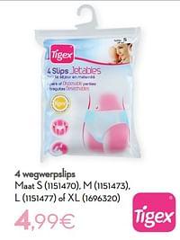 4 wegwerpslips-Tigex