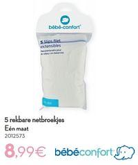 5 rekbare netbroekjes-Bébéconfort