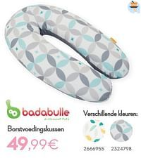 Borstvoedingskussen-Badabulle