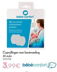 Cupvullingen voor borstvoeding-Bébéconfort