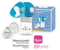 Tigex elektrische borstkolf multiflow recupel inbegrepen-Tigex