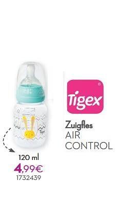 Zuigfles air control