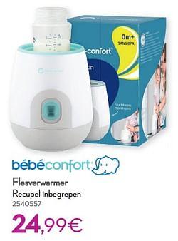 Bébéconfort flesverwarmer recupel inbegrepen