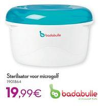 Sterilisator voor microgolf-Badabulle