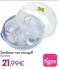 Sterilisator voor microgolf-Tigex