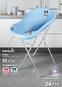 Badkuip minnie of mickey-Keeeper
