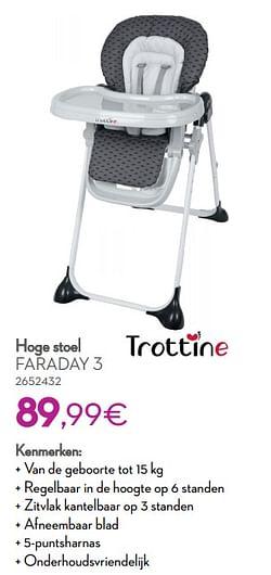 Hoge stoel faraday 3