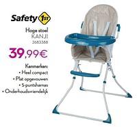 Hoge stoel kanji-Safety 1st