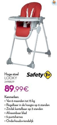 Hoge stoel looky-Safety 1st