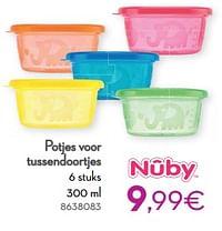 Potjes voor tussendoortjes-Nuby