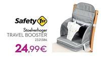 Stoelverhoger travel booster-Safety 1st