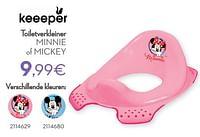 Toiletverkleiner minnie of mickey-Keeeper