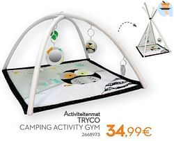 Activiteitenmat tryco camping activity gym