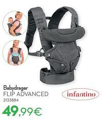 Babydrager flip advanced-Infantino