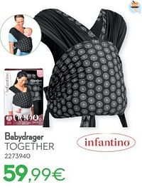 Babydrager together-Infantino