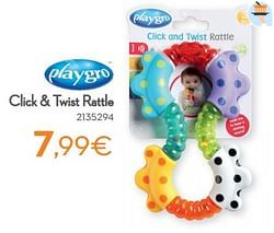 Click + twist rattle