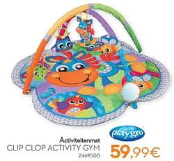 Ctiviteitenmat clip clop activity gym