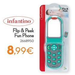 Flip + peek fun phone