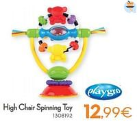 High chair spinning toy-Playgro