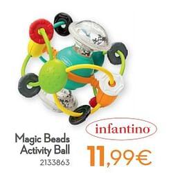 Magic beads activity ball