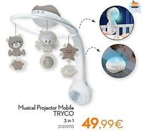 Musical projector mobile tryco 3 in 1-Tryco