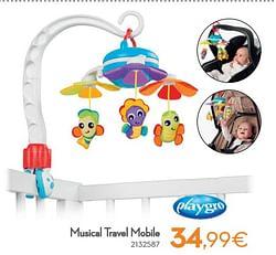 Musical travel mobile