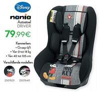 Autostoel driver-Nania