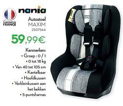 Autostoel maxim