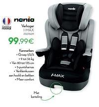 Verhoger i-max-Nania
